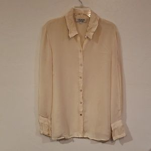 Vintage LAUNDRY BY SHELLI SEGAL Blouse